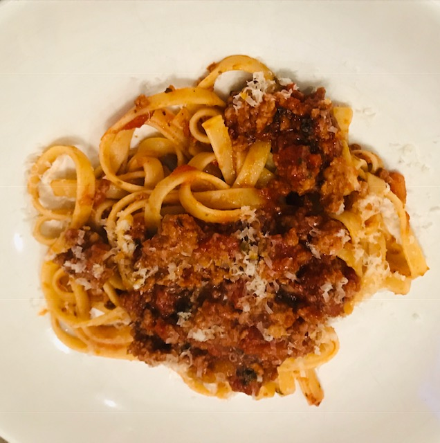 a perfect Bolognese sauce