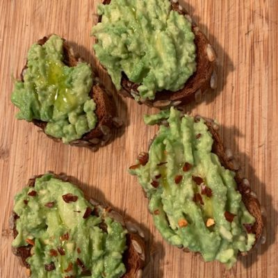 avocado toasts with or without chili recipe