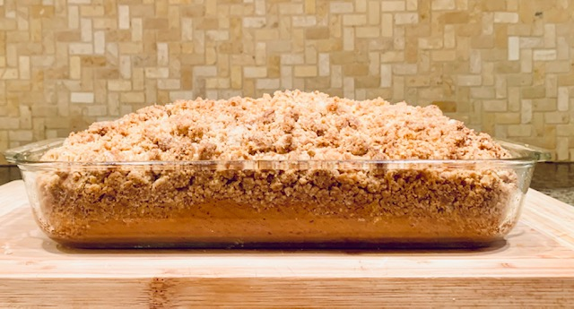 let it crumble crumb coffee cake