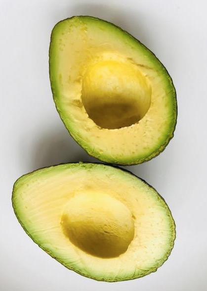 fresh avocados for guacamole recipe