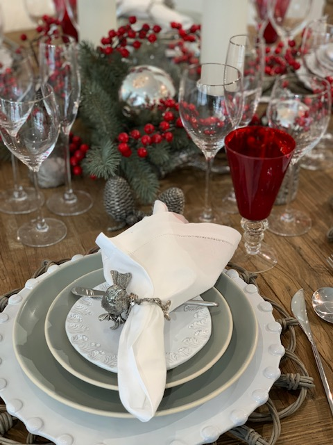 formal table setting,