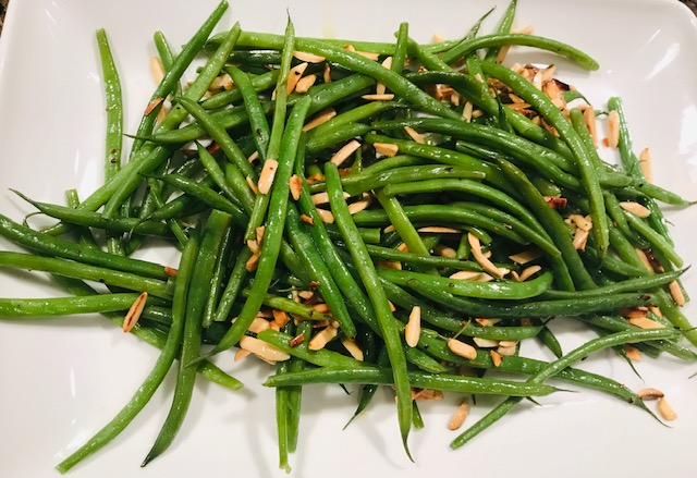green beans… in a variety of ways