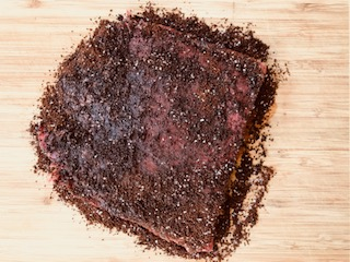 flank steak with coffee rub recipe