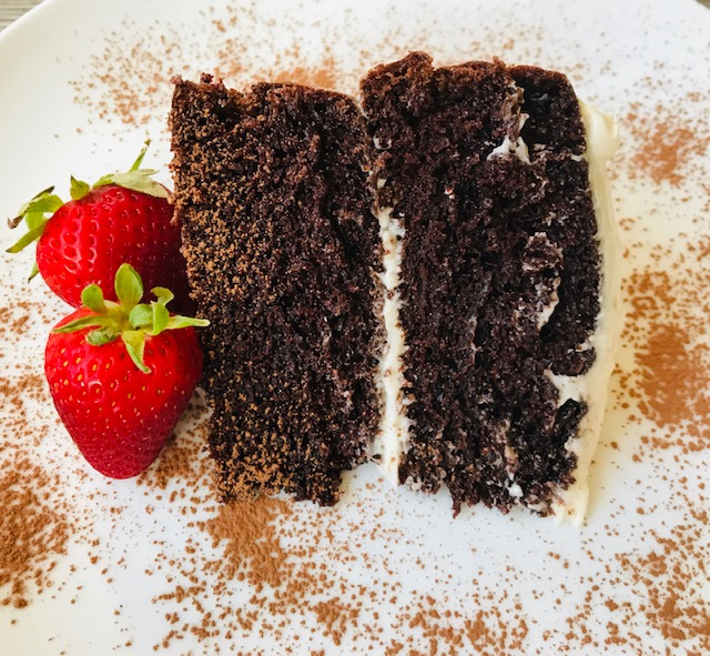 The perfect, classic chocolate layer cake