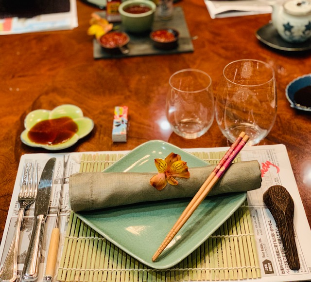 Chinese hot pot table setting ideas