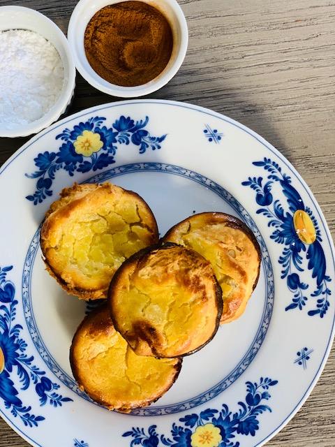 Portuguese Pastéis de Nata