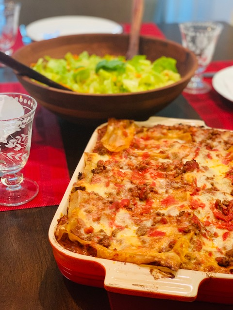 An easy Lasagne