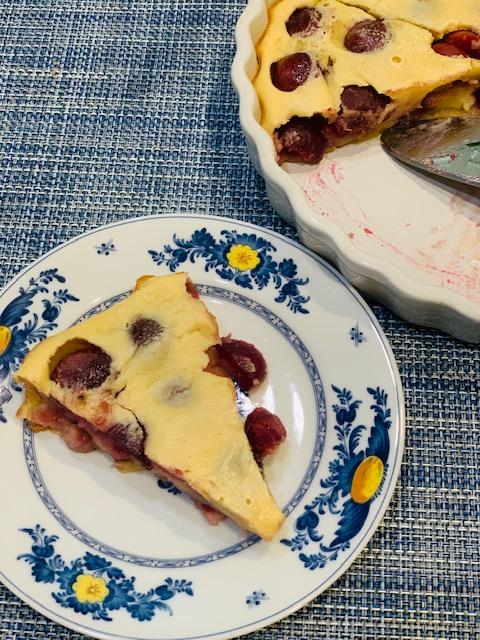 Julia Child's Berry Clafoutis
