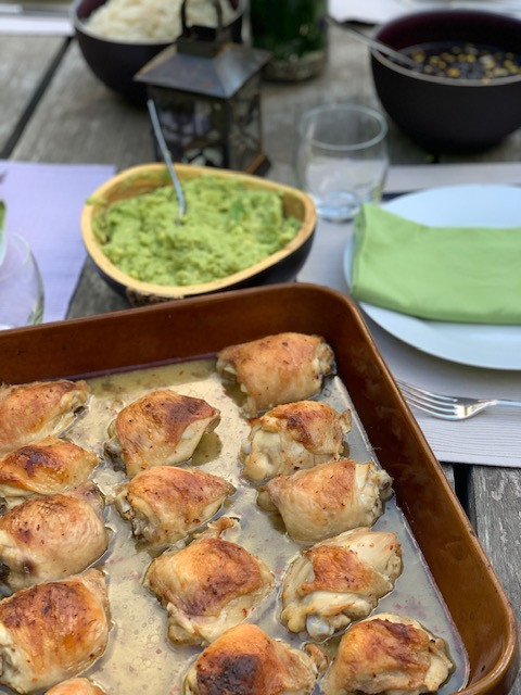 Roasted Tequila and Lime Chicken