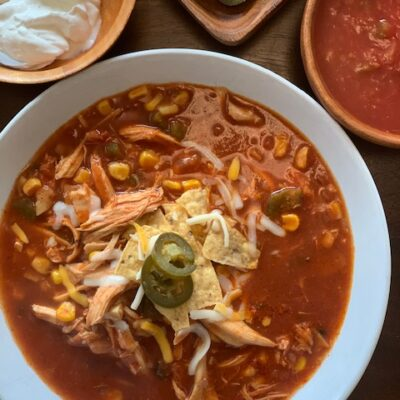 easy and delicious tortilla soup