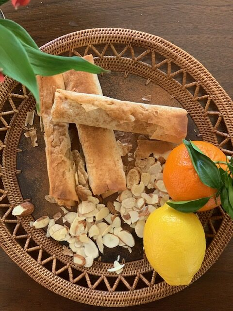 cinnamon & citrus almond cigars