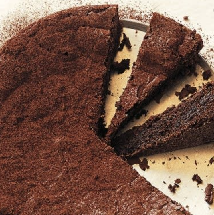 Black pepper chocolate cake